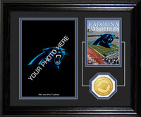 Carolina Panthers Framed Memories Desktop Photo Mint
