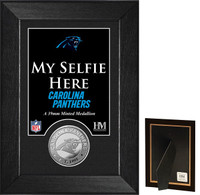 Carolina Panthers Selfie Minted Coin Mini Mint