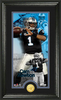 Cam Newton Supreme Bronze Coin Panoramic Photo Mint