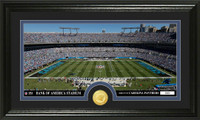 Carolina Panthers Stadium Bronze Coin Panoramic Photo Mint