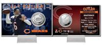 Jay Cutler Silver Coin Card