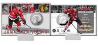 Jonathan Toews Silver Coin Card