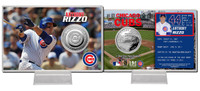 Anthony Rizzo Silver Coin Card
