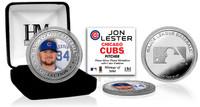 Jon Lester Silver Color Coin