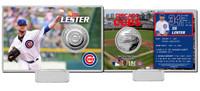 Jon Lester Silver Coin Card