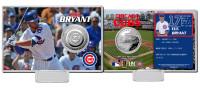 Kris Bryant MLB Debut Silver Coin Card