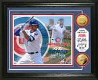 Kris Bryant MLB Debut Gold Coin Photo Mint
