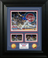 Jake Arrieta No-Hitter Marquee Gold Coin Photo Mint