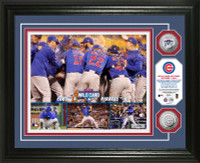 Chicago Cubs 2015 Wild Card Victory Silver Coin Photo Mint