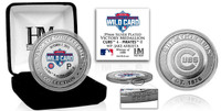 Chicago Cubs 2015 Wild Card Victory Silver Color Coin