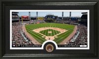 Chicago White Sox Infield Dirt Coin Panoramic Photo Mint