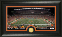 Cincinnati Bengals Stadium Bronze Coin Panoramic Photo Mint