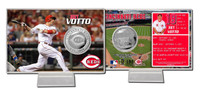 Joey Votto Silver Coin Card