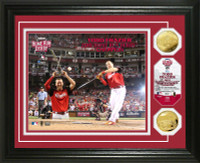 2015 MLB Home Run Derby Champion Gold Coin Photo Mint