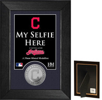 Cleveland Indians Selfie Minted Coin Mini Mint
