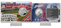 Progressive Field Silver Coin Card