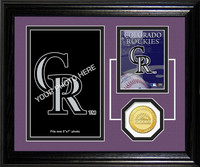 Colorado Rockies Fan Memories Photo Mint