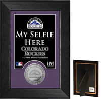 Colorado Rockies Selfie Minted Coin Mini Mint