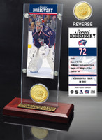 Sergei Bobrobsky Ticket and Bronze Coin Desktop Acrylic