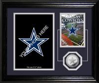 Dallas Cowboys Framed Memories Desktop Photo Mint