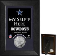 Dallas Cowboys Selfie Minted Coin Mini Mint
