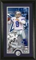 Tony Romo Supreme Minted Coin Panoramic Photo Mint