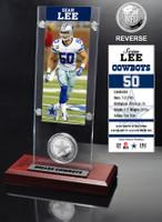 Sean Lee Ticket & Minted Coin Acrylic Desktop