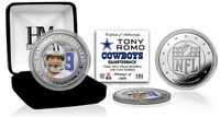 Tony Romo Silver Color Coin