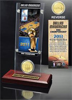 Rajon Rondo Ticket & Bronze Coin Acrylic Desk Top