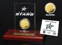 Dallas Stars Etched Acrylic Desktop