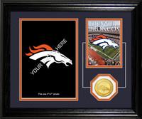 Denver Broncos Framed Memories Desktop Photo Mint