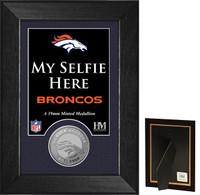 Denver Broncos Selfie Minted Coin Mini Mint