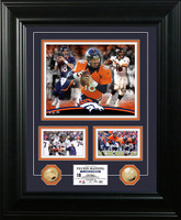 Peyton Manning Marquee Gold Coin Photo Mint