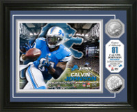 Calvin Johnson Silver Coin Photo Mint
