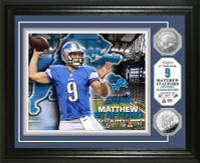 Matthew Stafford Silver Coin Photo Mint