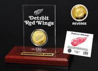 Detroit Red Wings Etched Acrylic Desktop