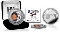 Miguel Cabrera Silver Color Coin