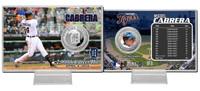 Miguel Cabrera 2000th Hit Silver Coin Card