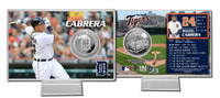 Miguel Cabrera Silver Coin Card