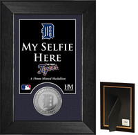 Detroit Tigers Selfie Minted Coin Mini Mint