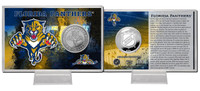 Florida Panthers Silver Coin Card