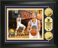 Stephan Curry Gold Coin Photo Mint
