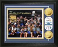 Golden State Warriors 2015 NBA Finals Champions Celebration Gold Coin Photo Mint
