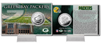 Green Bay Packers Silver Coin Card