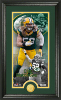 Clay Matthews Supreme Bronze Coin Panoramic Photo Mint
