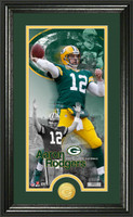 Aaron Rodgers Supreme Bronze Coin Panoramic Photo Mint