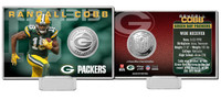 Randall Cobb Silver Coin Card