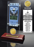 Super Bowl 45 Ticket & Game Coin Collection