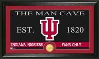 Indiana University Man Cave Bronze Coin Panoramic Photo Mint