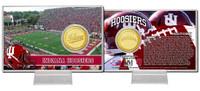 Indiana University  Bronze Coin Card